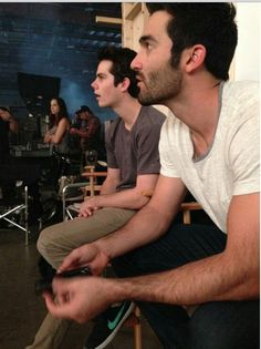 Find images and videos about teen wolf, dylan o'brien and stiles stilinski on We Heart It - the app to get lost in what you love. Teen Wolf Ships, Teen Wolf Boys, Teen Wolf Dylan, Teen Wolf Cast, Dylan O'brien, Scott Mccall, Lydia Martin, Meninos Teen Wolf, Stiles Derek