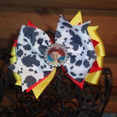 Toy Story Jessie Hair Bow by MegansHairCandy on Etsy, $8.00