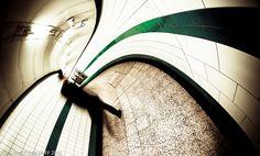 I'm Late, I'm Late, I'm Late! by Aaron Yeoman on 500px GREEN PARK UNDERGROUND