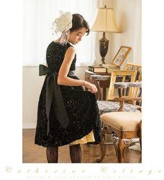 商品番号: PC607 子どもドレス 透かしベロア花柄ドレス 120 130 140 150 160 発表会 結婚式 シルバー ゴールド 金 銀 黒 ブラック