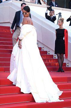 Rihanna - Cannes 2017 - red carpet