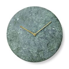 Marble+Wall+Clock:+Black,+White+or+Green