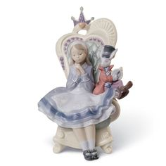 Alice in wonderland - Lladro - Lladro - RoyalDesign.se