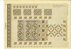 Folk Embroidery, Cross Stitch Borders, Peasant Blouse, Reuse, Folk Art, Stitch Patterns, Diy And Crafts, Vintage World Maps, 1