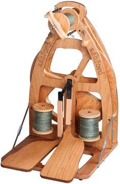 Joy_SHF Ashford spinning wheel - sweetness in transportable form.
