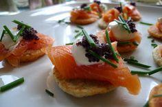 Receitas Especiais: Canapé de Salmão, Caviar e Creme Philadelphia