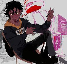 Cartoon Kunst, Cartoon Art, Black Girl Art, Art Girl, Character Design Animation, Character Art, Black Anime Characters, Different Art Styles, Black Cartoon