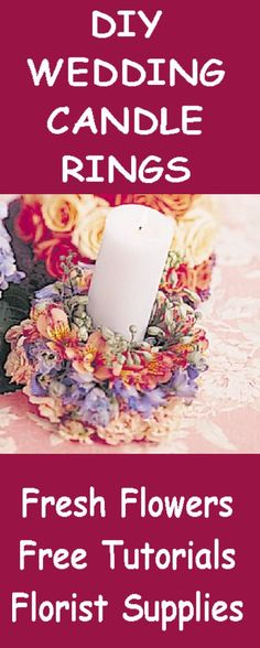 Images about fresh flower rings and wreaths on