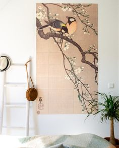 Rustige IXXI muurdecoratie die perfect matcht met de rest van haar woonkamer. Vooral planten en veel groen toevoegen zijn helemaal van nu. De IXXI aan de muur maakt het af. (Credits naar @styledbysabine / Volg @styledbysabine ook via Instagram ♥)