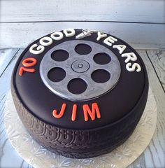 Good Years Tire Cake.