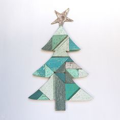 Salvage Wood Christmas Tree