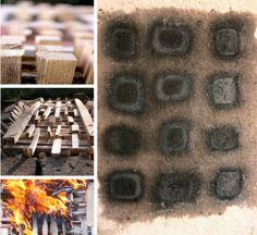 Fasi lavorazione Firepaint- Cottura all'aperto. Ceramica. By Giovanni Maffucci