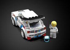 Dear Lego fans, Here comes my new project in the Lego Speed Champions series: The mythical Peugeot 205 Turbo 16 Evolution 2 Rally car This little beast is regarded by many ral...