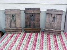 country shutter wall decor | We have an array of fine items to decorate your walls or