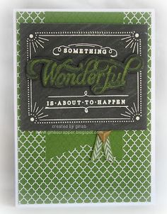 Gina's Little Corner of StampinHeaven: July Stamp of the Month - Life is Wonderful