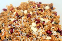 Delicious granola in 5 easy steps - property of Jessica Gordon Ryan