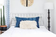 Are you ready to get your hands on your own indigo bolster pillow? If you're like me, you've got a handful of things on your wish list for your home that feel special enough to spend a little extra on