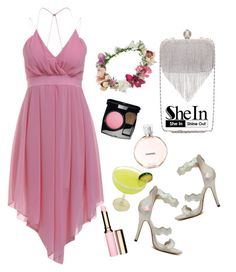 """""""SheIn"""" by elly-852 ❤ liked on Polyvore featuring Topshop, Chanel and Clarins"""