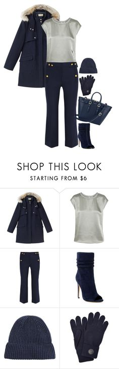"""""""Untitled #5886"""" by miki006 ❤ liked on Polyvore featuring Precis Petite, Helmut Lang, J.Crew, Halston Heritage, Dsquared2 and Aspinal of London"""