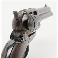 """Colt SAA revolver, .44-40 cal., 4-3/4"""" barrel, blue and case hardened finish, replaced wood grips,"""