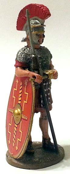 "Legionario romano, I secolo d.C., numero 66 di ""Roma e i suoi nemici"" (2011 Vadis) #Miniatures #Figures #AncientRome #OspreyPublishing #Legionary"