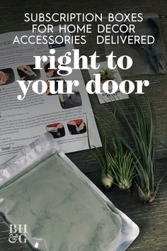 If you're getting tired of your living room artwork or thinking about swapping out some tabletop accents, consider signing up for a home decor subscription box. Much like popular fashion, food, and beauty boxes, home decor subscriptions offer personalized accessories delivered straight to your door. #homedecor #subscriptionboxes #curatedhomedecor #homeaccents #bhg