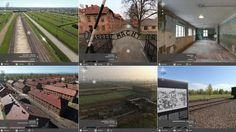 Las imágenes son panorámicas de 360 grados que muestran tanto el terreno como los edificios, y además cuentan con descripciones históricas, testimonios, documentos e incluso accesos a obras de arte...