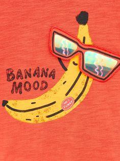 Banana Beach, Pink Banana, Banana Art, Kids Prints, Baby Prints, Fruit Cartoon, Baby Posters, Embroidery Techniques, Baby Design