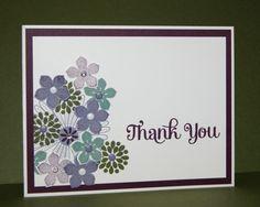Laura's Blog Stampin' Up! Four You, Petite Petals, Mixed Bunch
