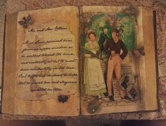 Pretty Pride and Prejudice Altered Book: Mr. and Mrs. Collins OOAK by BelleMemorieWeddings on Etsy https://www.etsy.com/listing/235484933/pretty-pride-and-prejudice-altered-book