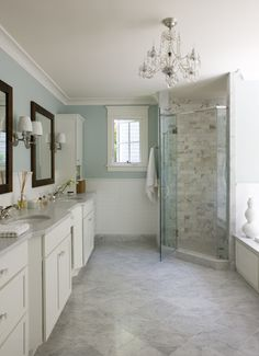 Spring Time Bathroom Remodeling - www.remodelworks.com #springtime #bathroom #remodeling