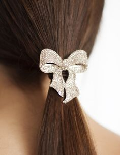Silver crystal hair bow...Statement necklaces and brooches...aged metals and sparkling crystals with a unique back. Bling it on and decorate your life with Evelyn Hope
