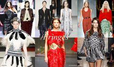 Fringes #Spring2014 #Fashion #Trends #Fringes #VZNYC