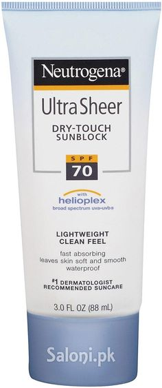 75a6327b2 Neutrogena Ultra Sheer Dry-Touch Sunblock SPF 70 88 ML
