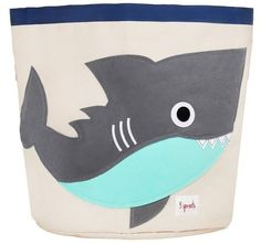 Product Details About 3 Sprouts        Help your kids clean up their act with our cute animal storage bins. Well sized for storing toys, books or laundry ou...