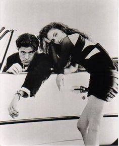Dana Ashbrook and Mädchen Amick, 1991.