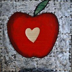 """ Mărinimos "" - collage on wood - Artist: Daniel Loagăr No 6, Collage, Sugar, Cookies, Heart Attack, Artist, Desserts, Handmade, Pdf"