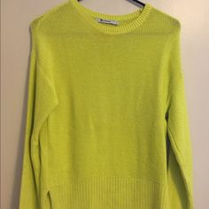 T by Alexander Wang Citron Cotton Sweater XS 100% cotton, size XS. T by Alexander Wang Sweaters Crew & Scoop Necks