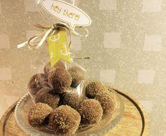 Rezept dunkle Eierlikör Pralinen von ingaelli - Rezept der Kategorie Desserts