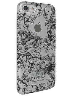 Harmony - Black Roses Snap-On Case - iPhone 7