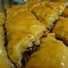Check out this tasty cooking,  recipe to make Baklava