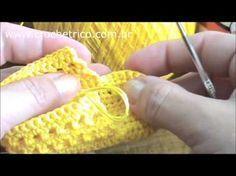 Passo a Passo Botinha para Bebê em Crochê - Charme - YouTube