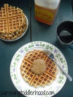 Grain Free GAPS Legal Waffles