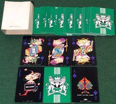VINTAGE 1966 NINTENDO Non-Standard ** SHARP ORACLE ** PLAYING CARDS Superb   eBay