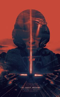 Star Wars: The Force Awakens Fan Poster by Montréal-based Patrick Seymour