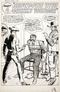 jack kirby rawhide kid | Rawhide Kid splash by Jack Kirby. Source .