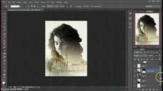 Double Exposure Photoshop Tutorial, via YouTube.