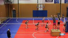 Volleyball Cover your hitter drill Volleyball Hitter, Volleyball Gifs, Volleyball Training, Volleyball Workouts, Volleyball Outfits, Coaching Volleyball, Volleyball Players, Volleyball Skills, Volleyball Drills For Beginners