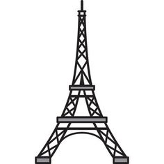 Marianne Designs Craftable Die Eiffel Tower