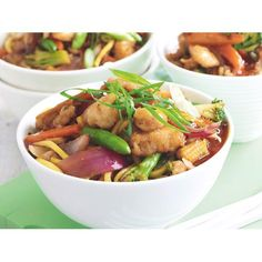 Sweet chilli fish and noodle stir-fry recipe. #Fish #Chinese #Lunch